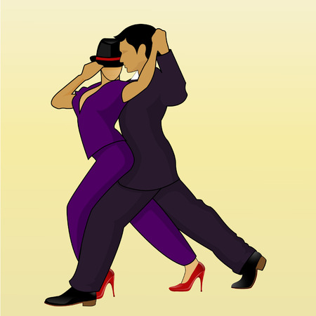 strictly: Couple Dancing a Latin American Salsa