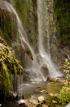 terni: The Cascata delle Marmore Marmores Falls, Terni, Umbria, Italy