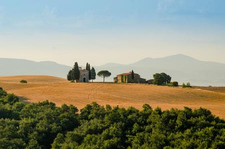 A villa of Tuscany, Italy Stock Photo
