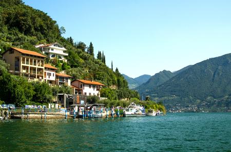 Peschiera Maraglio, Lake Iseo, Italy.