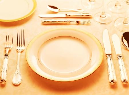table setting photo