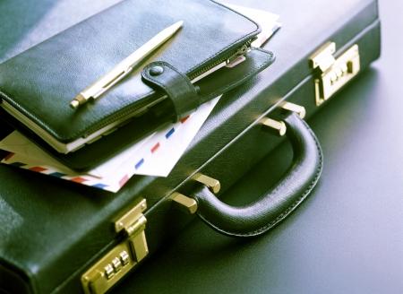 attache case: attache case and  notebook