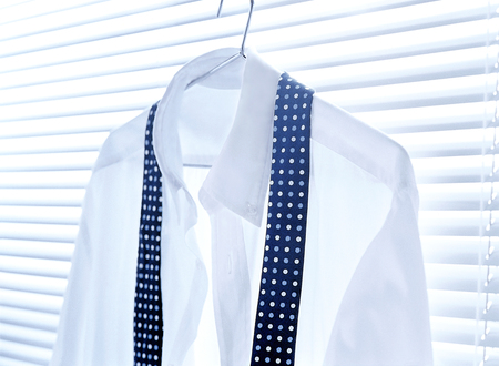 dress shirt and necktie photo
