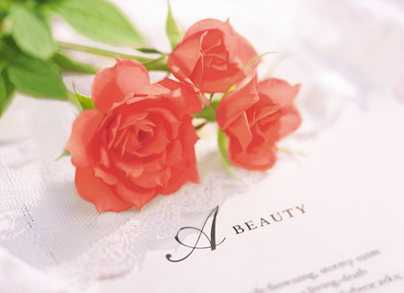 roses and beauty