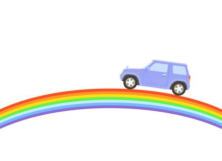 4x4 and rainbow
