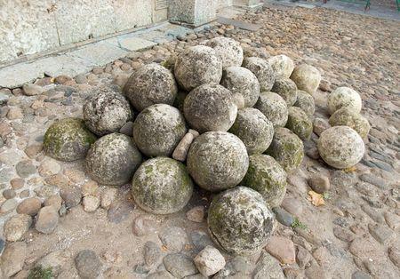 novgorod: Guns stone nucleus in the Novgorod Kremlin