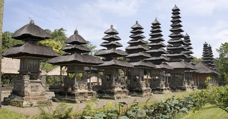 pura: Hinduism temple Pura Taman Ajun Mengwi, details, Bali, Indonesia