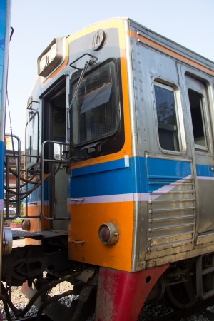 bogie: Train bogie close up
