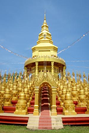 Wat Pa Sawang Boon Temple, Saraburi, Thailand Stockfoto