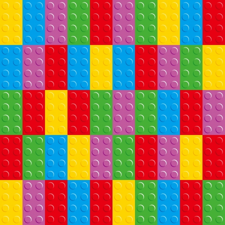 Bricks has a variety of colors Illustration
