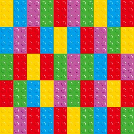 Bricks has a variety of colors Illustration