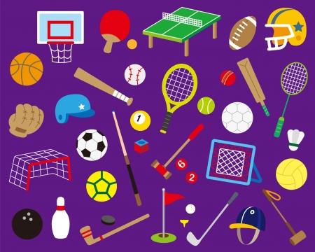 Una variedad de deportes de pelota, Foto de archivo - 21602743