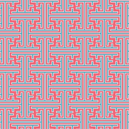 Las líneas tradicionales del mundo oriental Foto de archivo - 22024321