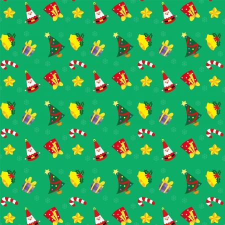 Etiqueta engomada de la Navidad y la ilustración vectorial Foto de archivo - 24440952