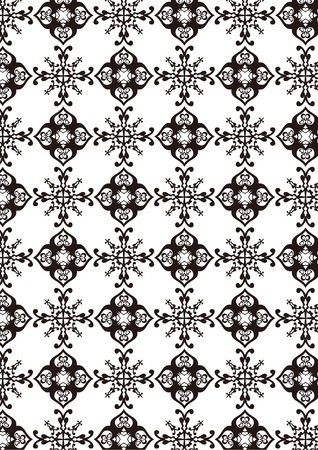 A variety of decorative pattern