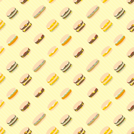 A variety of Hamburger pattern
