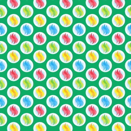 A variety of marble ball pattern