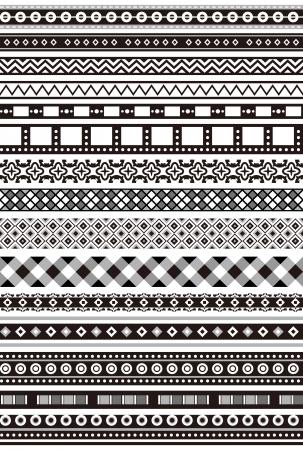 Una variedad de encajes Monocromo Foto de archivo - 24900160
