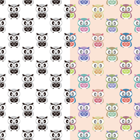 A variety of Owl pattern