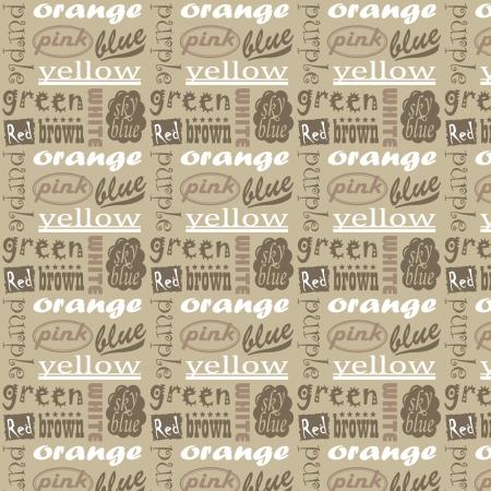 Una variedad de patrón de la palabra Foto de archivo - 24900170