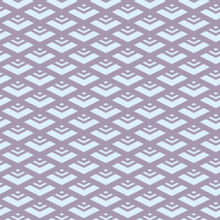The design of the rhombus Geometric pattern Illustration