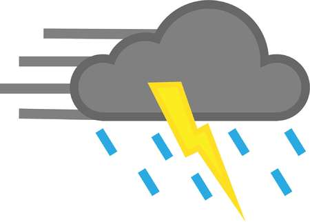 vector icon cloudy wind cloud