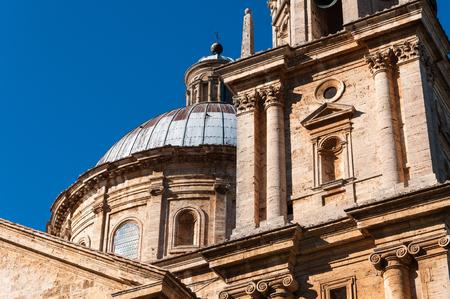 Church of San Biagio, Montepulciano, Tuscany,Italy Stock Photo