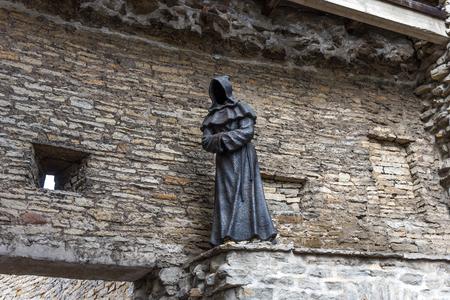 Tallinn, Estonia - August 28, 2018: One of the bronze 新聞圖片