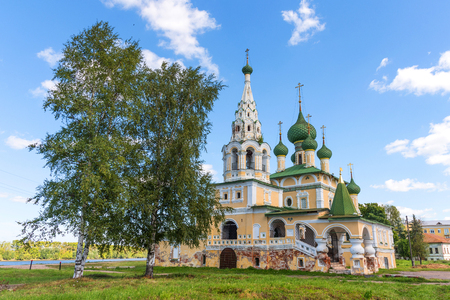 The Church Of St John The Baptist in Uglich, Yaroslavl Region, Russia. Golden Ring of Russia.