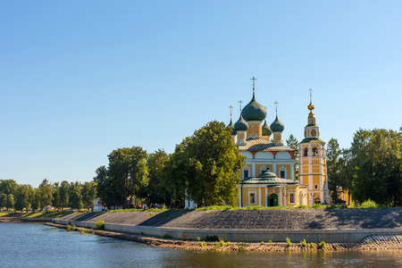 The Transfiguration Cathedral of the Kremlin in Uglich, Russia. Golden Ring of Russia . Preobrazhensky sobor. Stockfoto