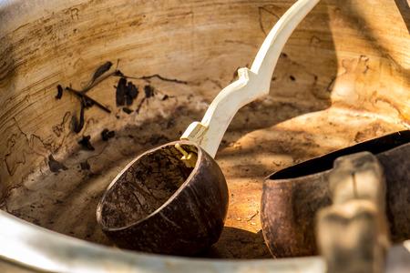 hilt: The Coconut, sugar, dried, fabrication, water, hilt.