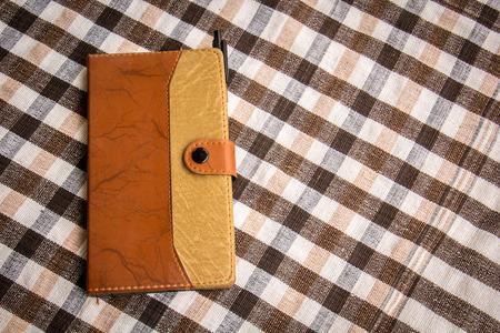 cotton texture: Notebook cotton texture background recording function.