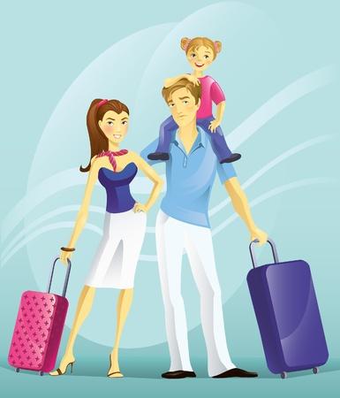 Le jeune couple en vacances Banque d'images - 9995673