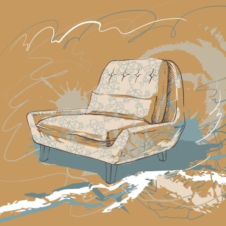 Living Room Stock Vector - 18304985