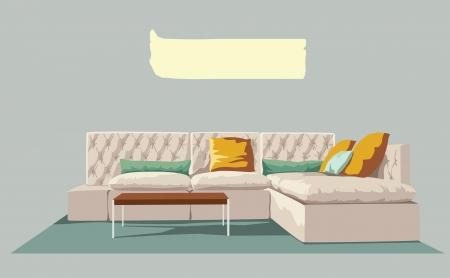 Living room Stock Vector - 18320233