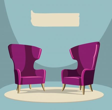 Living room Stock Vector - 18320232