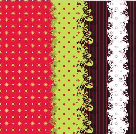 Christmas scrap templates