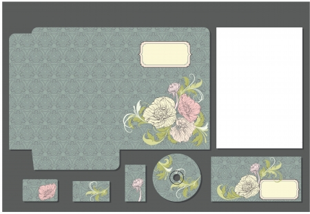artboard: Business style template  Please scale vector to artboard after open
