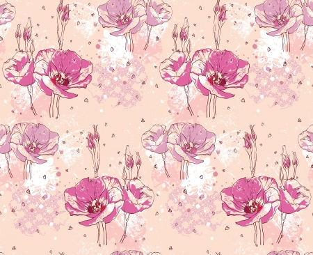 Floral seamless pattern Banque d'images - 18335712