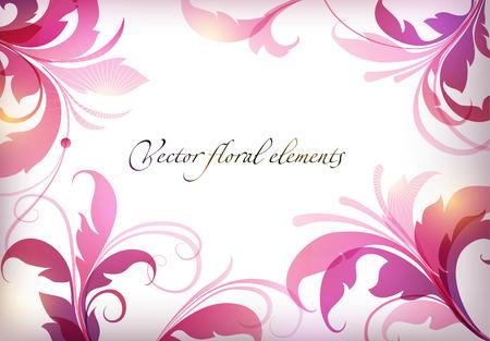 tallo: Mano de belleza dibuja ilustración con flores. Ilustración del vector. Vectores