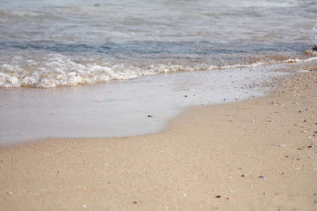 ebb: Sand and water