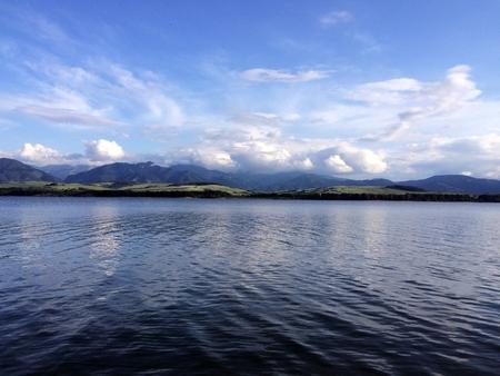 liptov: View on Liptov lake, Slovakia