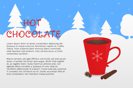 Can be used for winter decorations, poster, cover, package design, web and advertising banner. Illustration