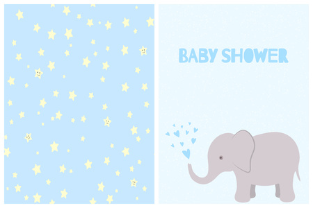 For birthday or party invitation and so for pajamas, nursery baby room poster, print design.