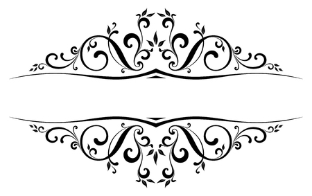 Scroll Design with all separated elements. Фото со стока - 57959868