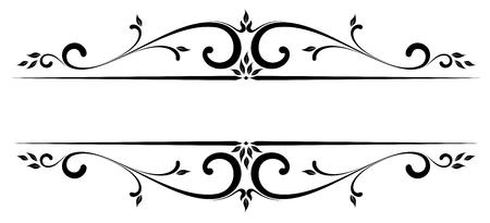 grecas: Diseño de desplazamiento con todos los elementos separados.