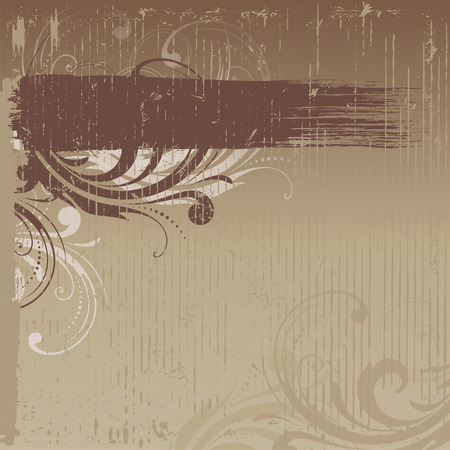 Grunge vintage background with copy space. Good for creative and greeting cards, posters, flyers, banners and covers.