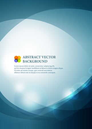 poster: Abstract vector background.