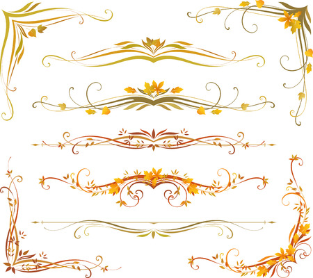 Vectorized Scroll Design. Use for wedding invitations, royal certificates, greeting cards, menus, programs, covers, posters, brochures and flyers.