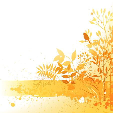 Hand drawn autumn design.